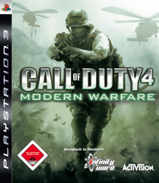 Call of Duty 4: Modern Warfare (Platinum)