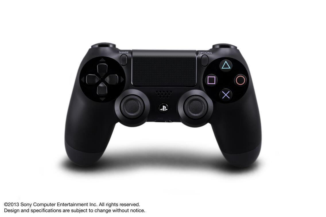 PS4 Dualshock 4 Controller schwarz