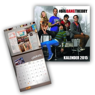Wandkalender 2015 The Big Bang Theory