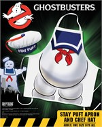 Ghostbusters - Kochschürze mit Kochmütze Stay Puft
