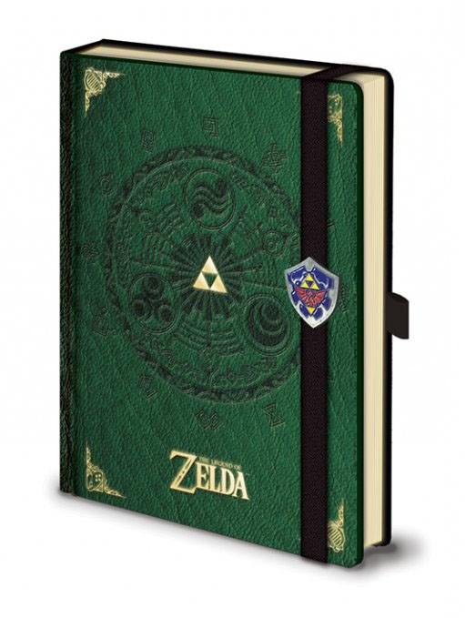The Legend of Zelda - Notizbuch (A5)