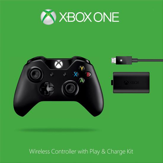 Xbox One Wireless Controller inkl. Audio Adapter + Play & Charge Kit