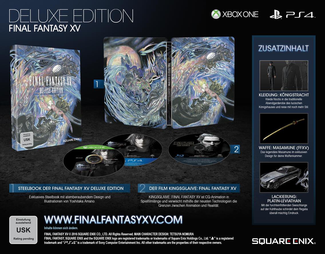 Final Fantasy XV Deluxe Edition