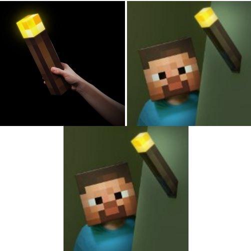 Minecraft Wandfackel