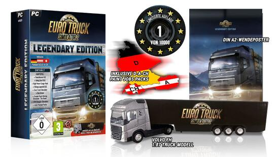 euro truck simulator 2 legendary edition. Black Bedroom Furniture Sets. Home Design Ideas