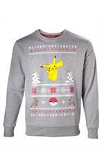 Pokemon - Sweatshirt Pikachu Christmas (Größe L)