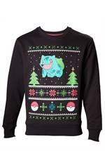 Pokemon - Sweatshirt Bisasam Christmas (Größe S)