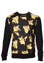 Pokémon - Sweatshirt Pikachu All Over (Größe L)