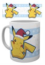 Pokemon - Tasse Pikachu Santa