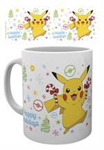 Pokemon - Tasse XMAS Pikachu