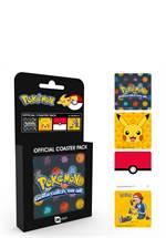 Pokémon - Untersetzer 4er-Pack