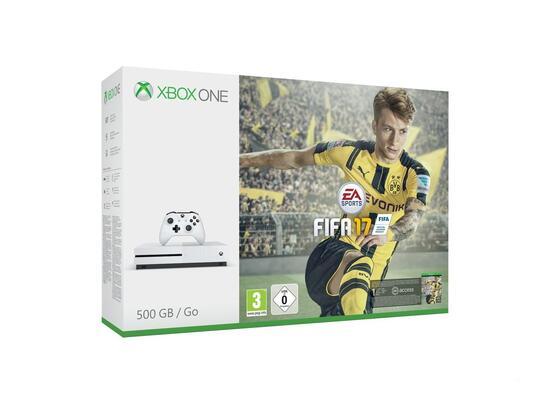 Xbox One S Konsole 500GB inkl. Fifa 17