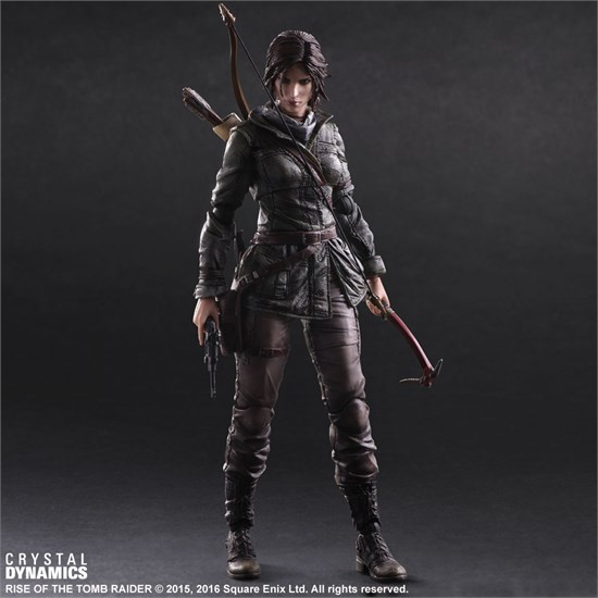 rise of the tomb raider figur lara croft. Black Bedroom Furniture Sets. Home Design Ideas