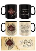 Harry Potter - Thermo-Effekt-Tasse Marauder