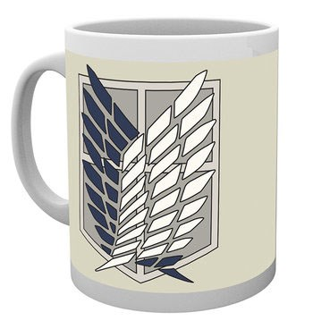 Attack on Titan - Tasse Badge