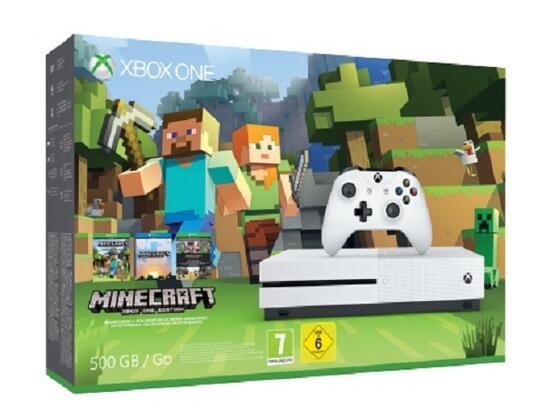 Xbox One S Konsole GB Inkl Minecraft GameStopat - Minecraft konsole und pc zusammen spielen