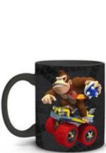 Mario Kart - Tasse schwarz