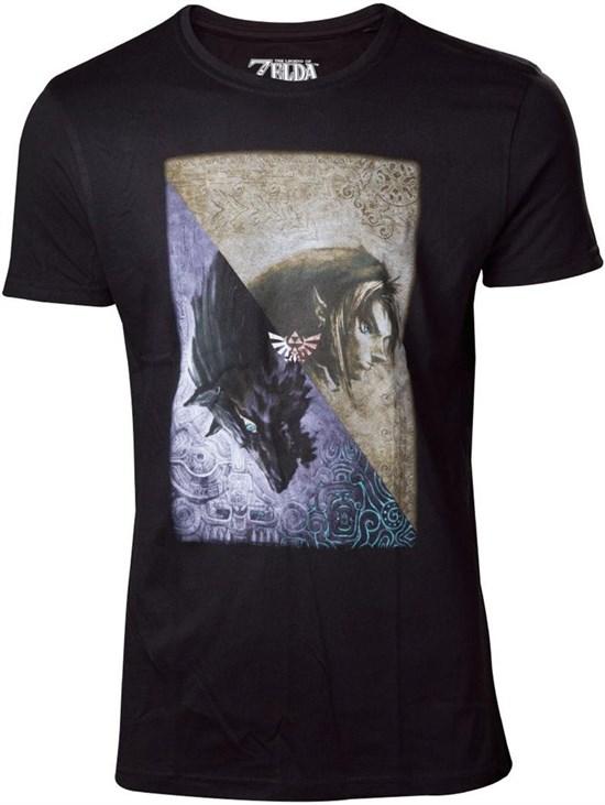 The Legend of Zelda - T-Shirt Twilight Princess (Größe M)