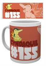 Pokémon - Tasse Cyndaquil (Feurigel)
