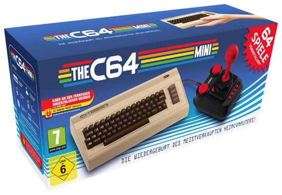 The C64 Mini Konsole