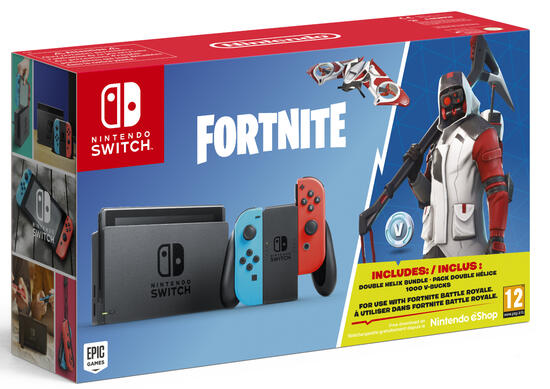 Nintendo Switch Konsole Inkl Fortnite Gamestop At