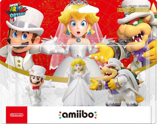 amiibo figuren 3er pack super mario odyssey characters. Black Bedroom Furniture Sets. Home Design Ideas