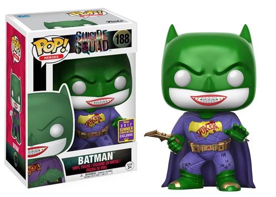 Suicide Squad - Pop! Vinyl-Figur Joker inspired Batman