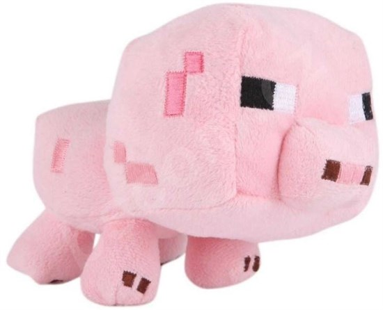Minecraft - Plüschfigur Schwein