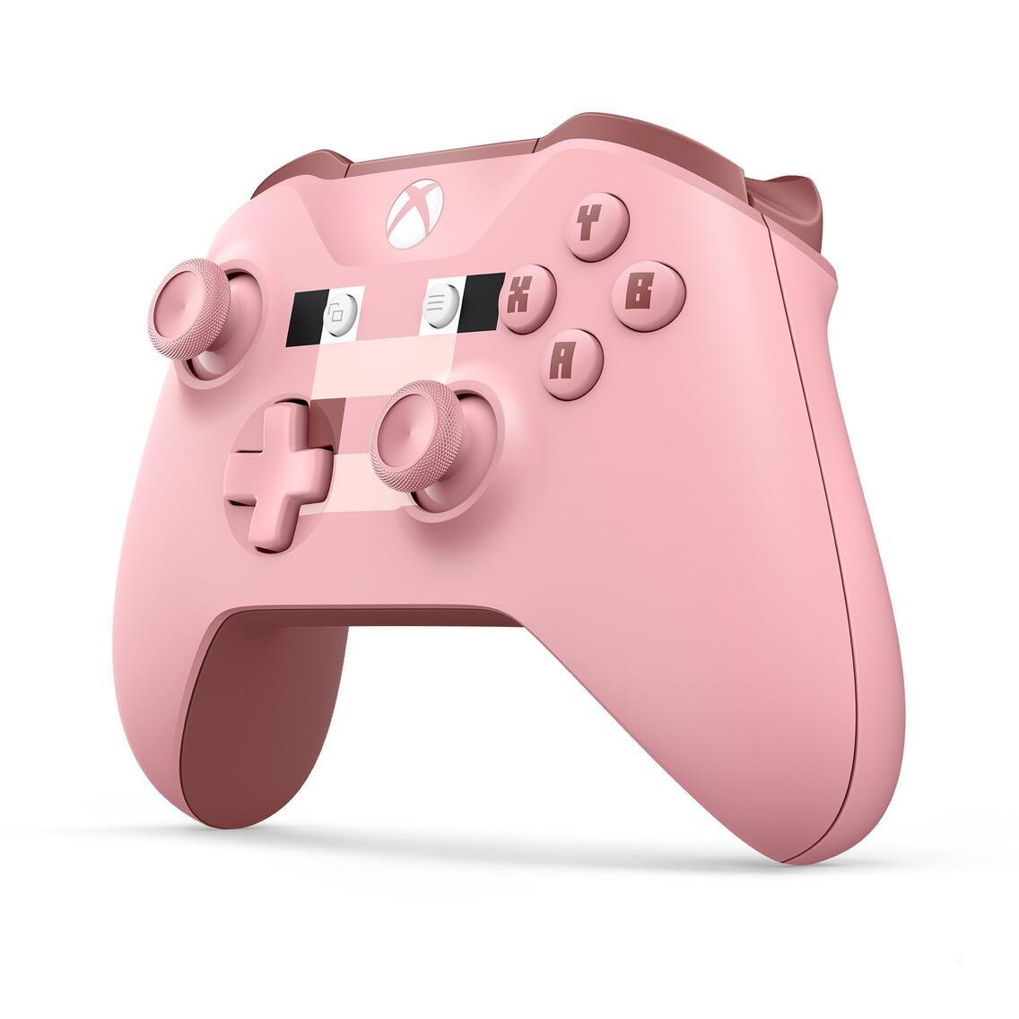 Xbox One Wireless Controller Minecraft pink