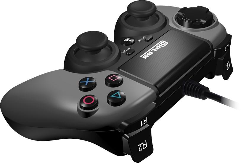 @Play PS4 Controller (kabelgebunden) grau