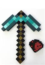 Minecraft - Adventure Kit (Diamond Pickaxe & Redstone Dust)