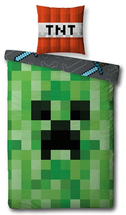 Minecraft Bettwäsche Gamestopat
