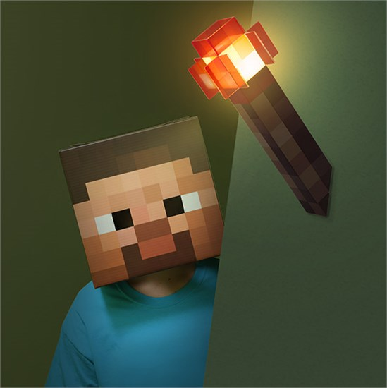 Minecraft Wandfackel