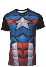 Marvel Captain America - T-Shirt (Größe L)