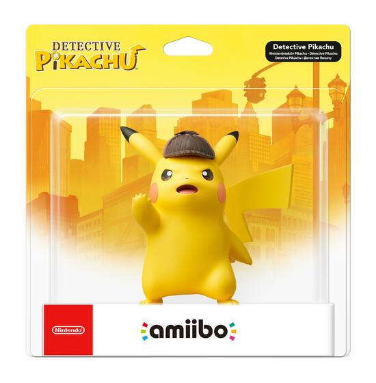 amiibo Figur Meisterdetektiv Pikachu