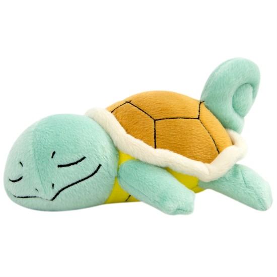 Pokémon - Plüschfigur Schiggy schlafend
