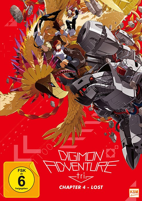 Digimon Adventure tri. Chapter 4 - Lost (Blu-Ray)