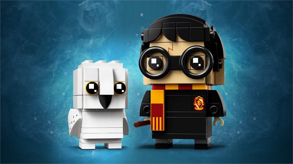 LEGO® BrickHeadz Harry Potter und Hedwig - 41615