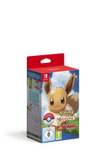 Pokémon: Let's Go Evoli + Pokéball Plus