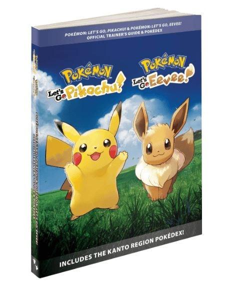 Pokémon: Let's Go Pikachu & Evoli Lösungsbuch+ Pokédex
