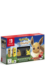 Nintendo Switch Konsole inkl. Pokémon Let's Go Evoli + Pokéball
