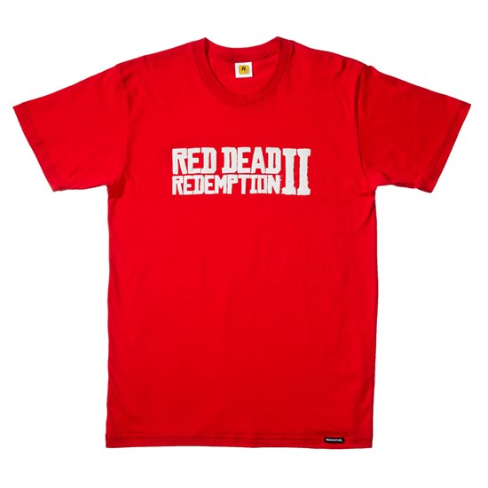 Red Dead Redemption II - T-Shirt Logo (Größe S)
