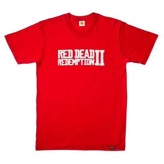 Red Dead Redemption II - T-Shirt Logo (Größe XL)