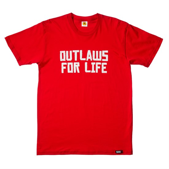 Red Dead Redemption II - T-Shirt Outlaws for Life (Größe M)
