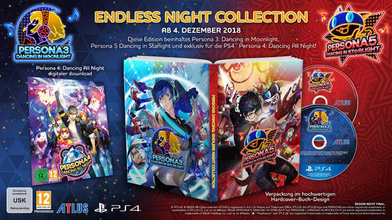 Persona 3-5 Endless Night Collection