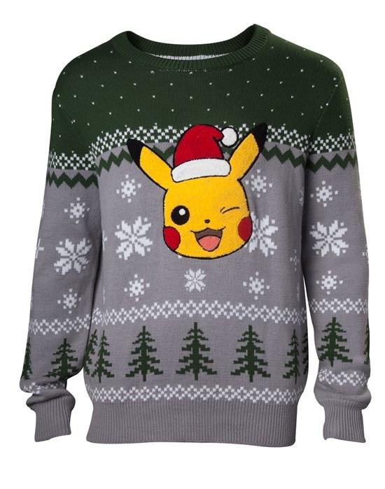 Pokémon - Pullover Xmas Pikachu (Größe M)