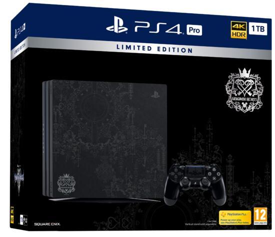 PlayStation 4 Pro 1TB Konsole Kingdom Hearts III Limited Edition (GameStop exklusiv!)