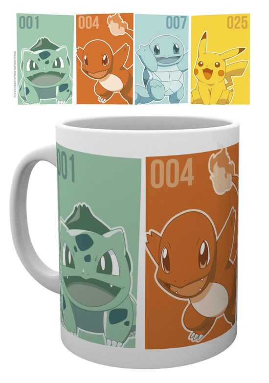 Pokémon - Tasse Starters