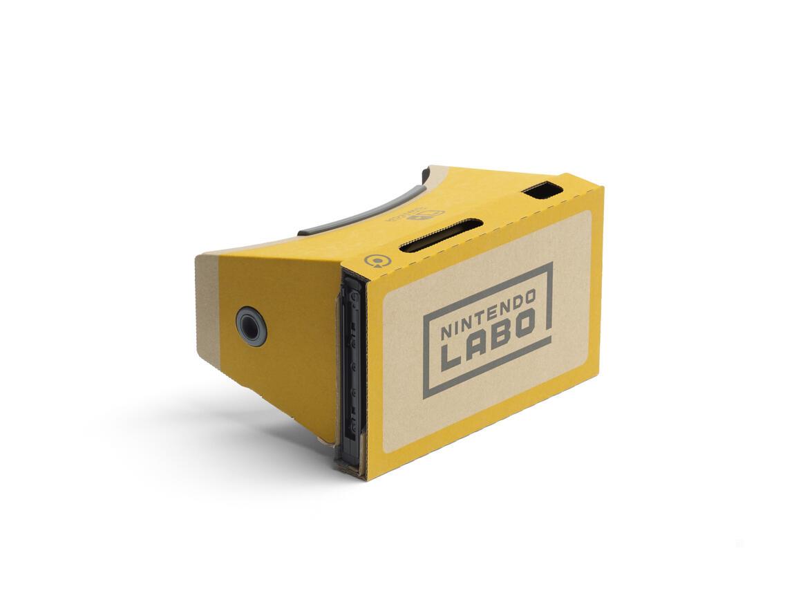 Nintendo Labo VR-Set Basispaket + Blaster