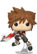 Kingdom Hearts - POP!-Vinyl Figur Sora mit Ultima Waffe